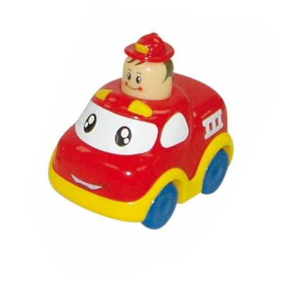 Bloomy Petit véhicule press and go : camion de pompier