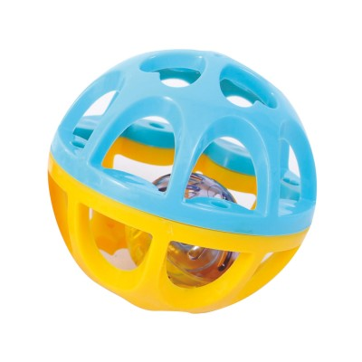 Bloomy Petite balle grelos : jaune et bleu