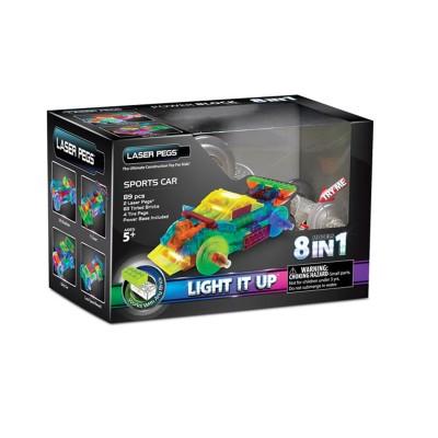 Laser Pegs briques de construction : sports car auto sport 8 en 1