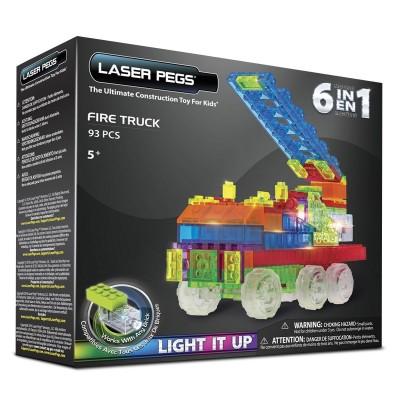 Laser Pegs briques de construction laser pegs : camion de pompiers