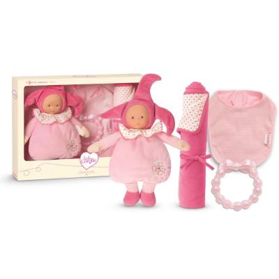 Corolle Babi Corolle : Coffret naissance Lutin rose