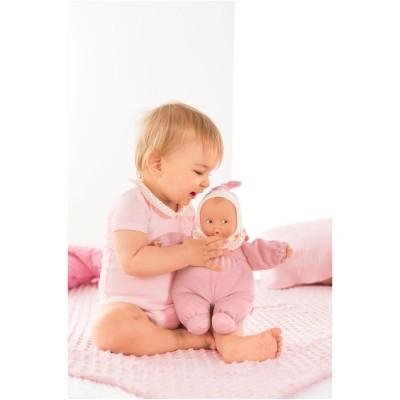Corolle Babi corolle : babipouce rayé rose
