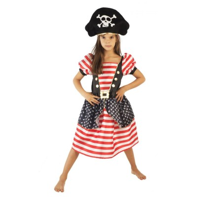 Upyaa Déguisement Pirate Housse Luxe 8/10 ans