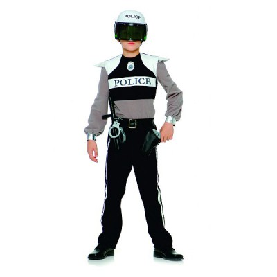 Upyaa Déguisement Policier (avec accessoires) : 3/4 ans