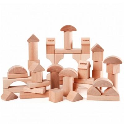 Brio Blocs de construction naturel 50 pièces