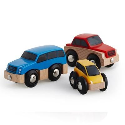 Brio Train Brio : Assortiment de voitures