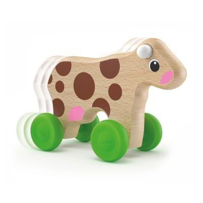 Brio Mini vache à pousser
