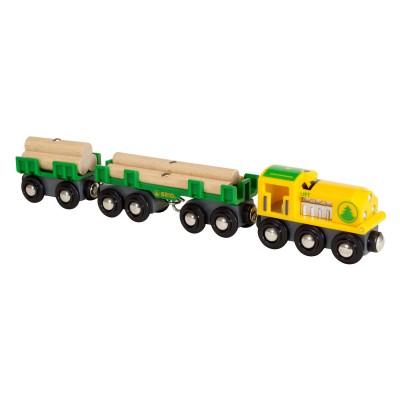 Brio Train forestier