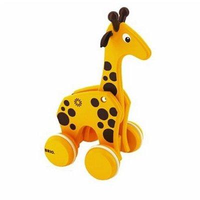 Brio Jouet à tirer girafe