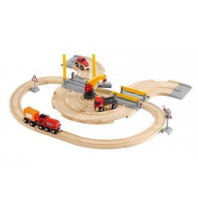 Brio Train Brio : Circuit marchandises rail/route