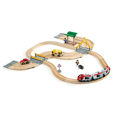 Brio Train Brio : Circuit correspondance train/bus