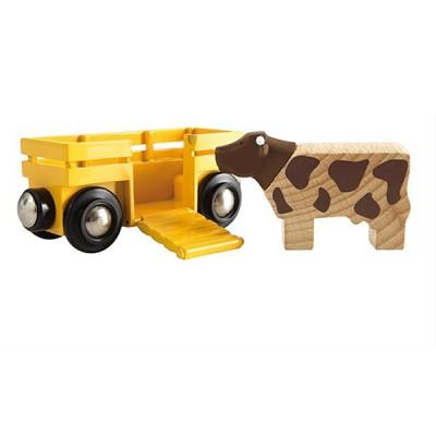 Brio Wagon transport de bétail cadeaux de noel