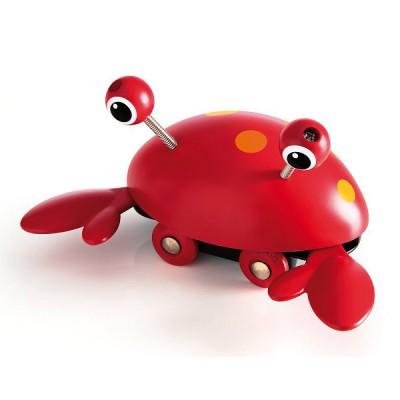 Brio Jouet à pousser : crabe farceur