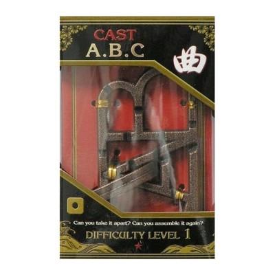 Hanayamatoys Casse tête en métal ABC