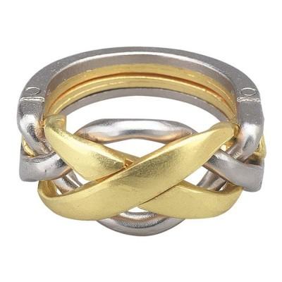 Hanayamatoys Casse-tête en métal Ring