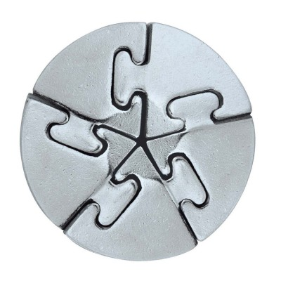 Hanayamatoys Casse-tête en métal Spiral