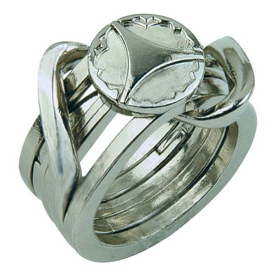 Hanayamatoys Casse-tête en métal Rings 2