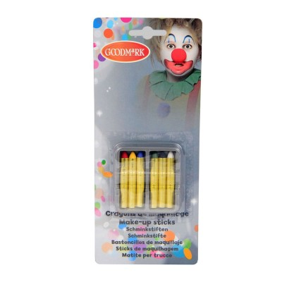 Goodmark Crayons de maquillage gras (x6)