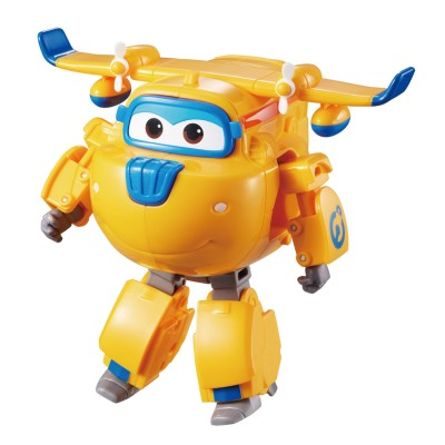 Auldey Toys figurine super wings : transforming donnie