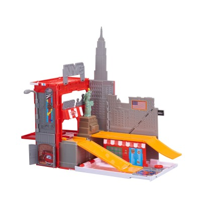 Auldey Toys playset super wings : new york city et jérôme