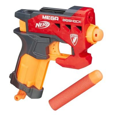 Nerf Pistolet à fléchettes : nerf mega elite bigshock