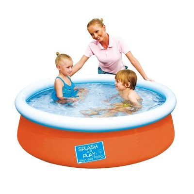 Bestway Piscine auto portante : orange