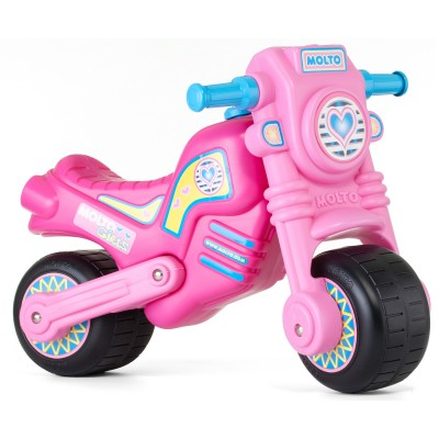 Molto Porteur moto cross rose