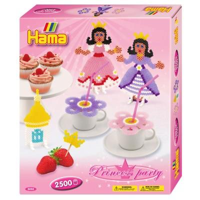 Hama Boîte de 2500 perles et plaques hama midi : fête de princesse