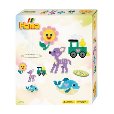 Hama Kit de perles Hama midi : Mobile pour enfant