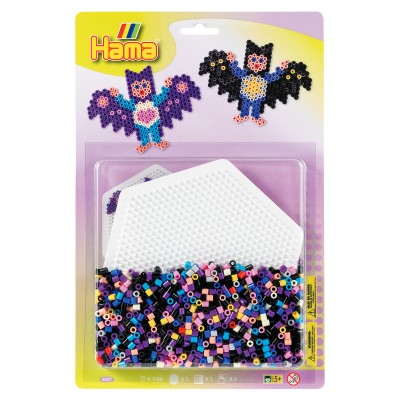 Hama Kit de perles Hama midi : Plaque hexagonale