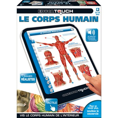 Educa Touch conector Le corps humain