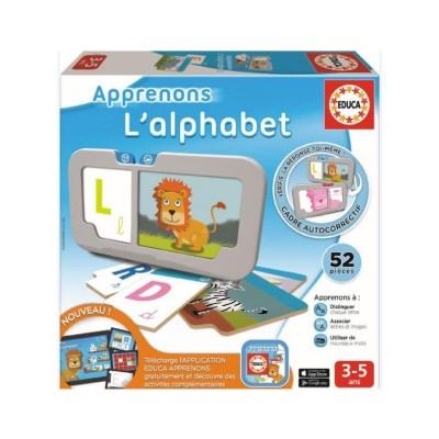 Educa Apprenons : l'alphabet