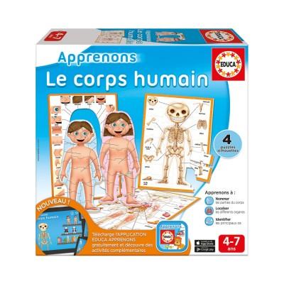 Educa Apprenons : le corps humain