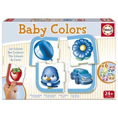 Educa Apprendre les couleurs : Baby Colors