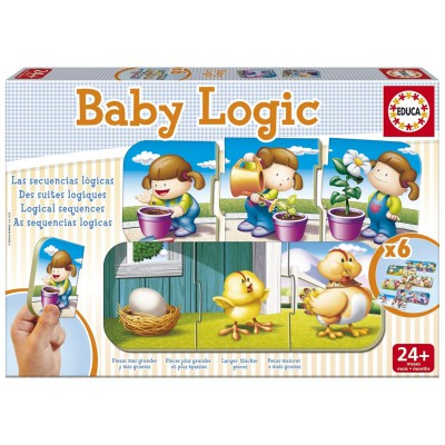 Educa Apprendre les suites logiques : baby logic
