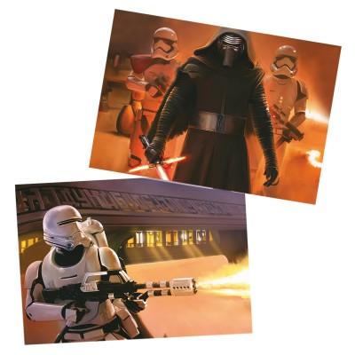 Educa Puzzle 2 x 100 pièces : star wars vii le réveil de la force