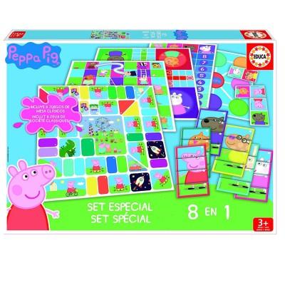 Educa 8 jeux en 1 peppa pig