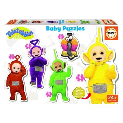 Educa Baby puzzle : 5 puzzles : teletubbies