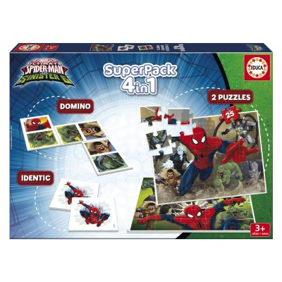 Educa Coffret 4 en 1 : spider-Man vs sinister 6