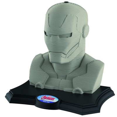 Educa Puzzle 160 pièces : sculpture 3d avengers : iron man