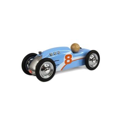 Baghera Mini bolide en métal : Rocket bleu