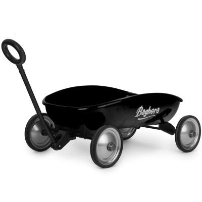 Baghera Chariot en métal à tirer : Mon Grand chariot noir
