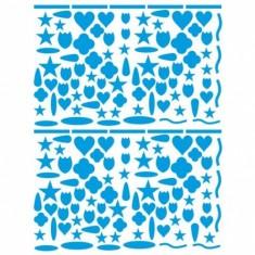 Sachet de 15 planches de stickers : Décors