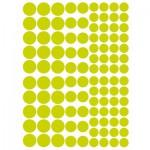 Sachet de 15 planches de stickers : Ronds