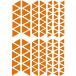 Sachet de 15 planches de stickers : Triangles