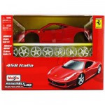 Modèle réduit à assembler - 458 Italia - Collection Assembly line - Echelle 1/24 : Rouge
