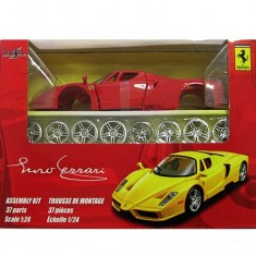 Modèle réduit à assembler - Ferrari Enzo Ferrari - Collection Assembly line - Echelle 1/24 : Rouge