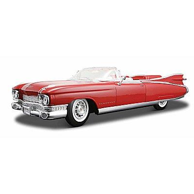 Modèle réduit - Cadillac Eldorado (1959) - Echelle 1/18 : Rouge - Maisto-M36813R