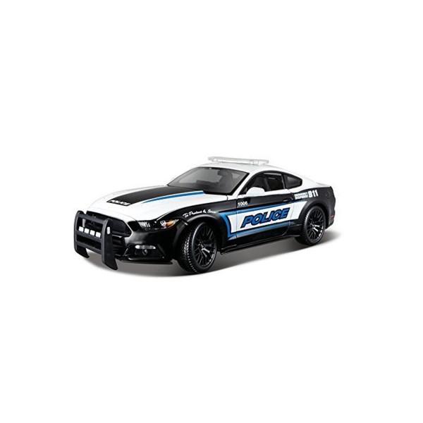 mod le r duit de voiture ford mustang gt police echelle 1 18 jeux et jouets maisto. Black Bedroom Furniture Sets. Home Design Ideas