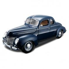 Modèle réduit - Ford Deluxe Coupe 1939 - Echelle 1/18 : Bleu